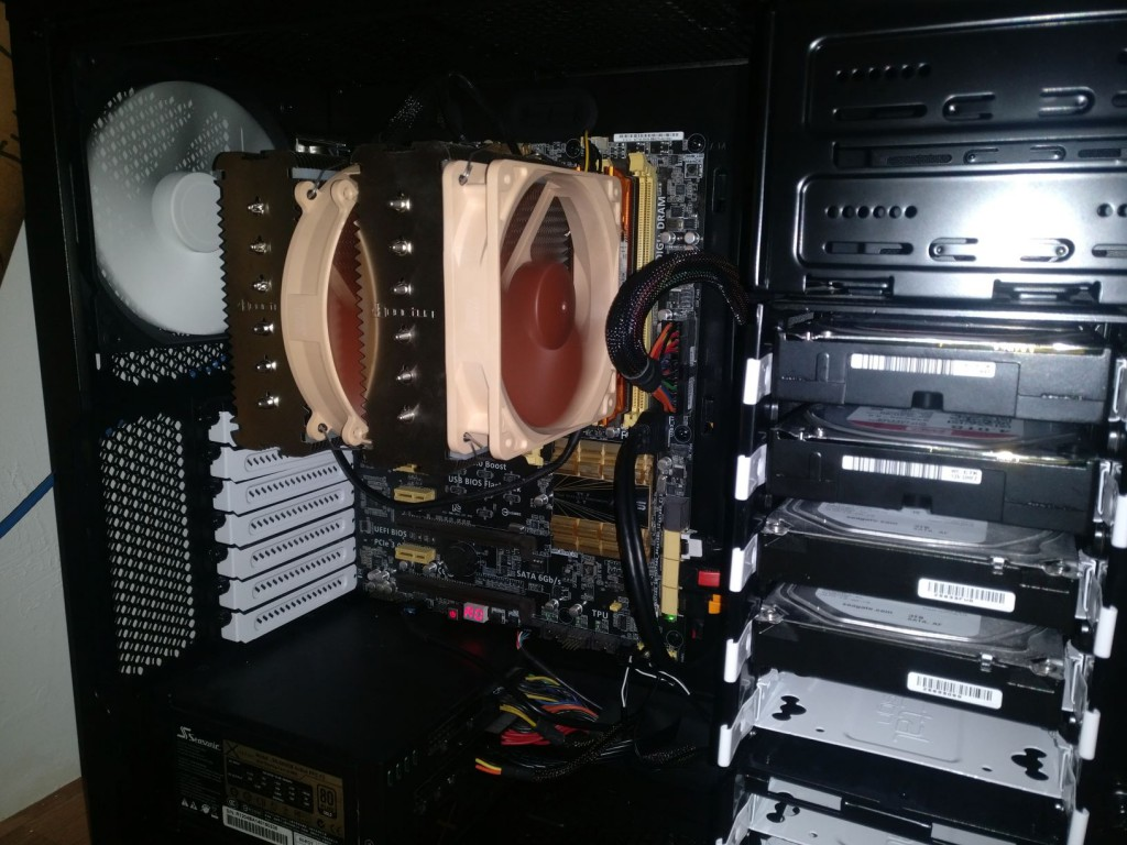Build with the Noctua NH-D14